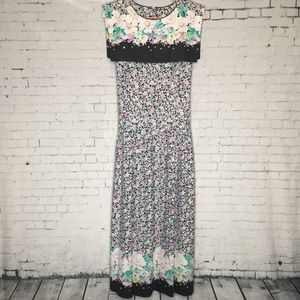 80's Lanza Originals Floral Dress